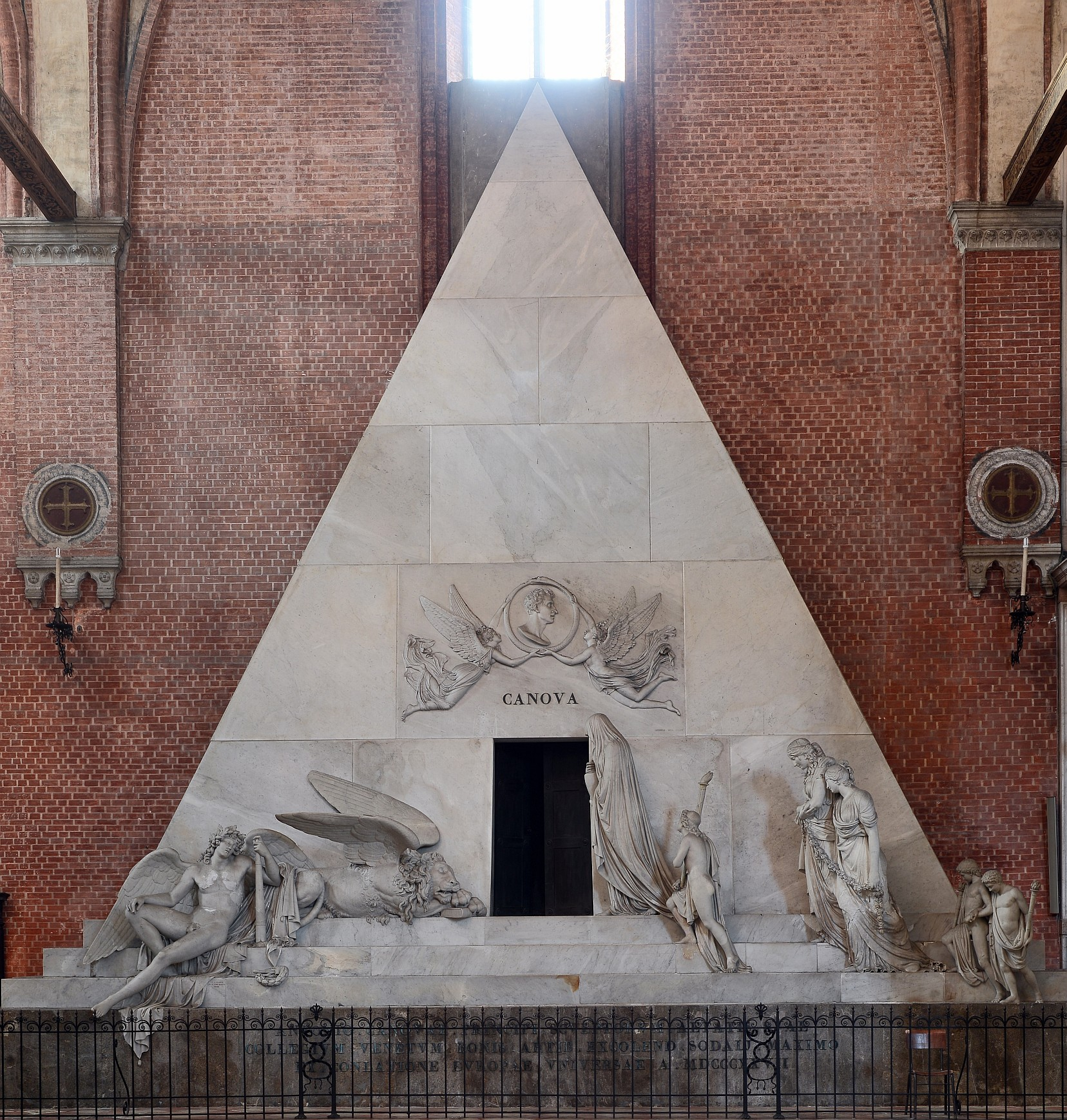 Image result for santa maria gloriosa dei frari venice canova