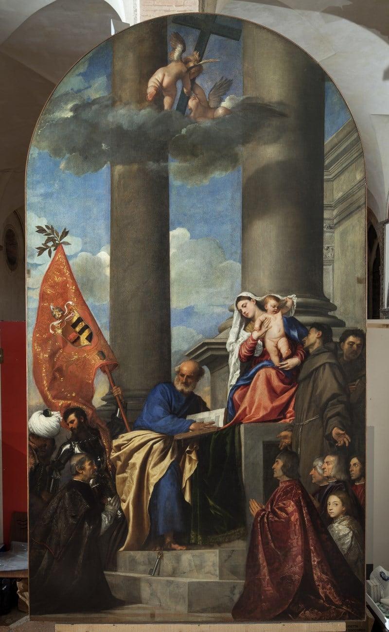 Madonna Tiziano Vecellio