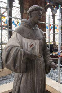 Restauro dell'altare dei Frari. Sant'Antonio di Padova